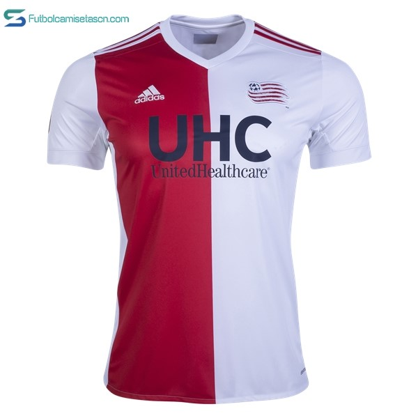 Camiseta New England Revolution 1ª 2017/18