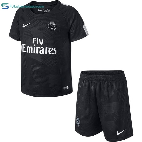 Camiseta Paris Saint Germain Niños 3ª 2017/18