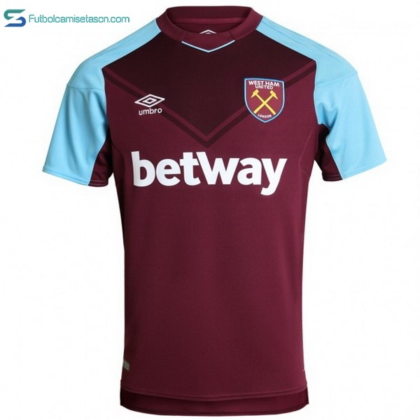 Camiseta West Ham United 1ª 2017/18