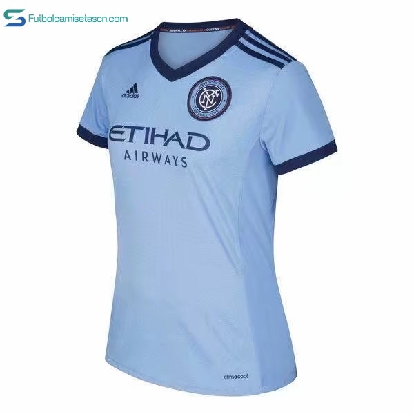 Camiseta New York City Mujer 1ª 2017/18