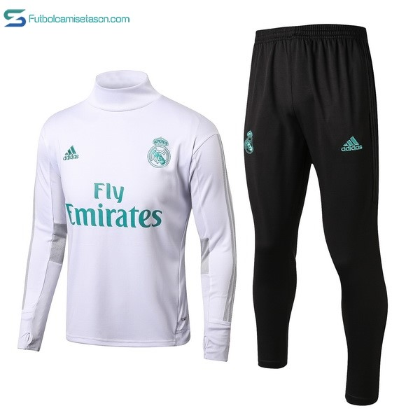 Chandal Real Madrid 2017/18 Blanco Negro