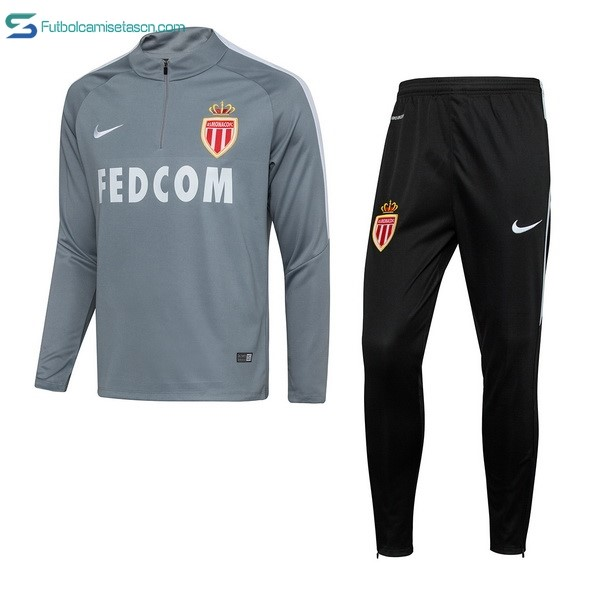 Chandal AS Monaco 2017/18 Gris