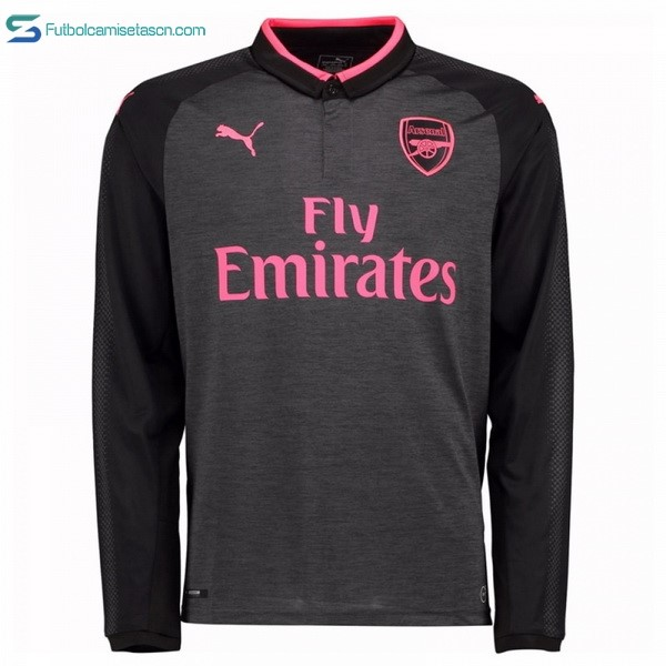 Camiseta Arsenal 3ª ML 2017/18