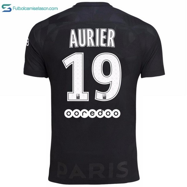 Camiseta Paris Saint Germain 3ª Aurier 2017/18