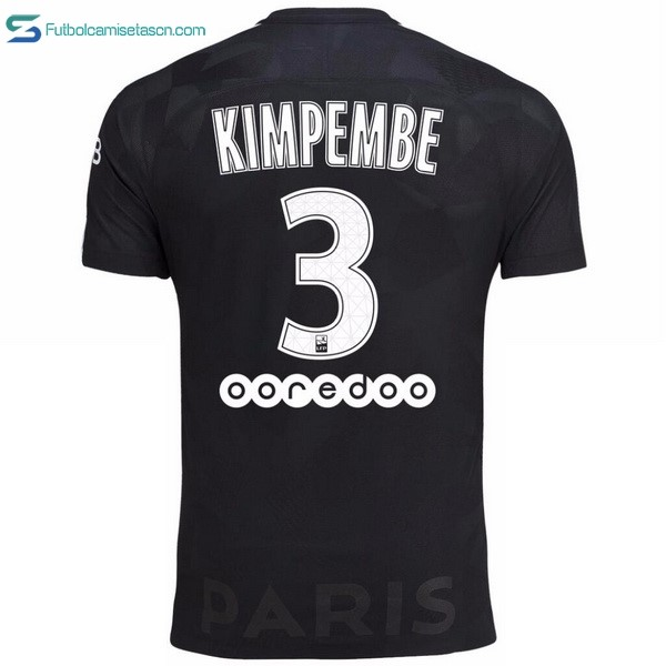 Camiseta Paris Saint Germain 3ª Kimpembe 2017/18