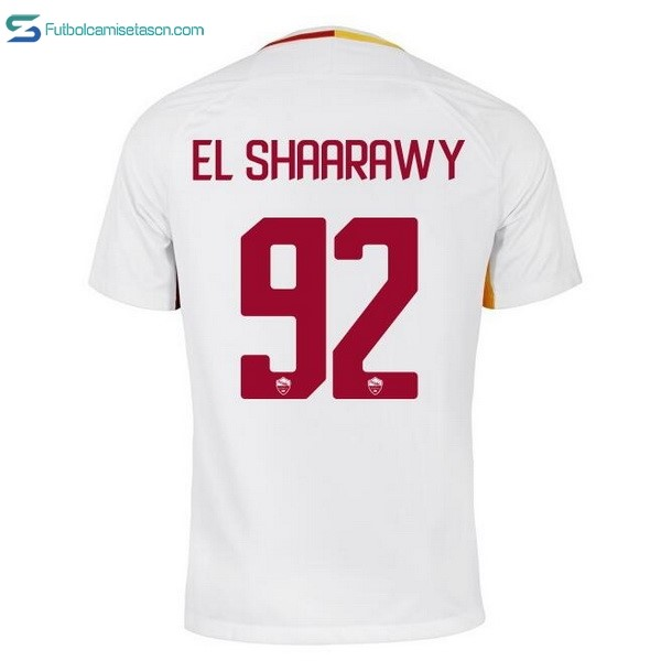 Camiseta AS Roma 2ª EL Shaarawy 2017/18