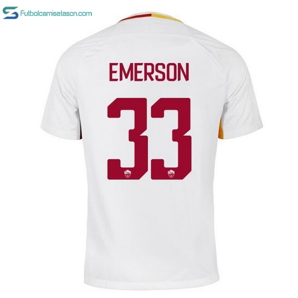 Camiseta AS Roma 2ª Emerson 2017/18
