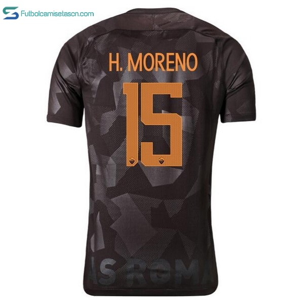 Camiseta AS Roma 3ª H.Moreno 2017/18