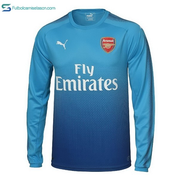 Camiseta Arsenal 2ª ML 2017/18