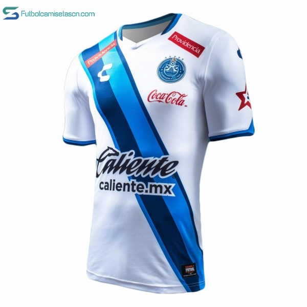 Camiseta Club Puebla 1ª Tenis Charly 2017/18