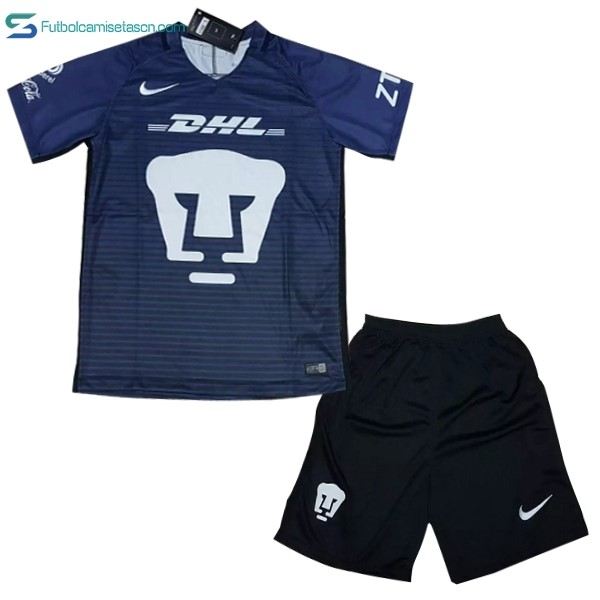 Camiseta Club Universidad Nacional Niños 3ª 2017/18