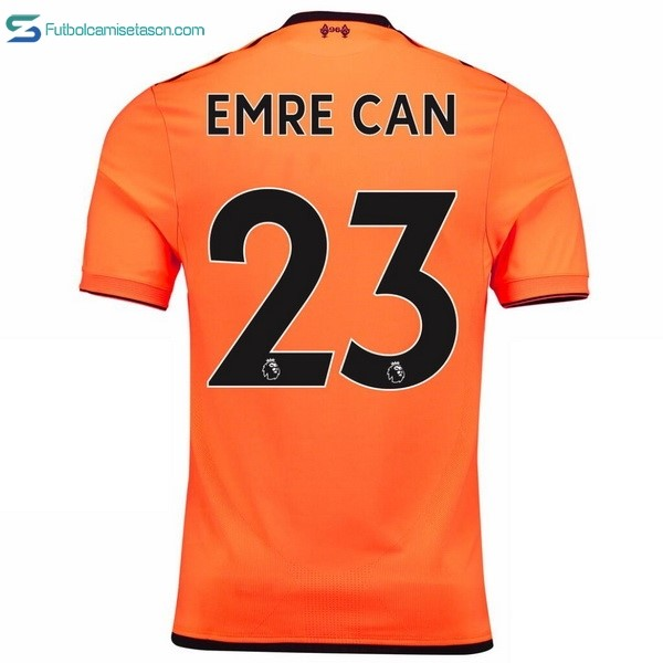Camiseta Liverpool 3ª Emre Can 2017/18