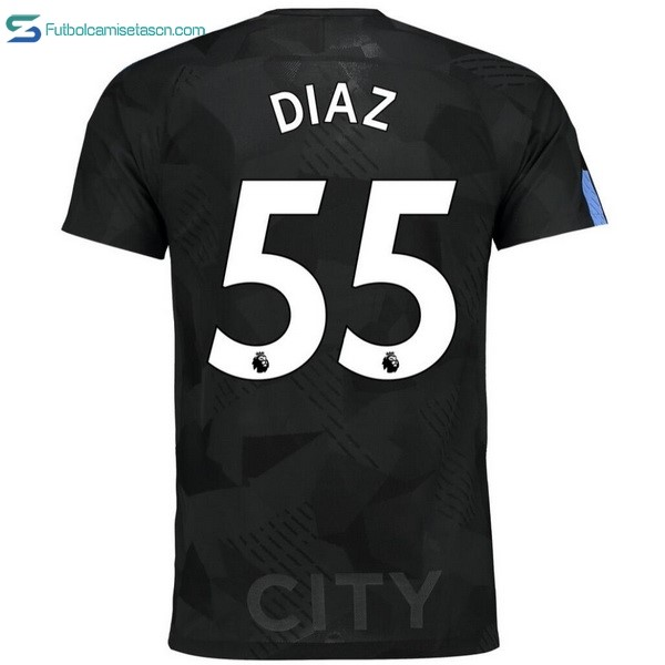 Camiseta Manchester City 3ª Diaz 2017/18