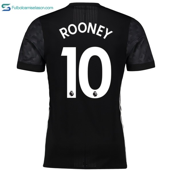 Camiseta Manchester United 2ª Rooney 2017/18