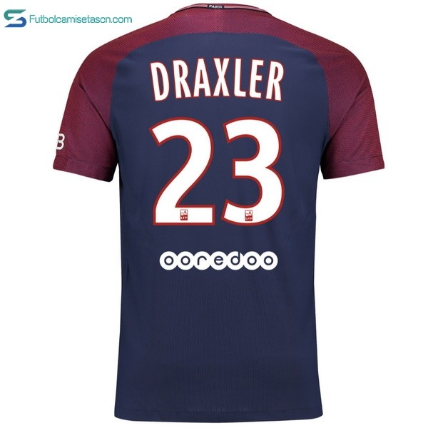 Camiseta Paris Saint Germain 1ª Draxler 2017/18