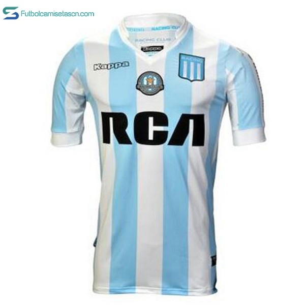 Camiseta Racing Club 1ª 2017/18