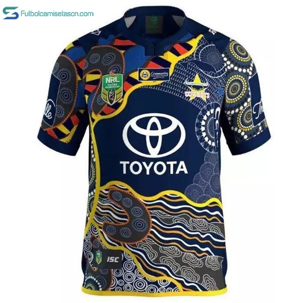 Camiseta Rugby North Queensland Cowboys 1ª 2016/17