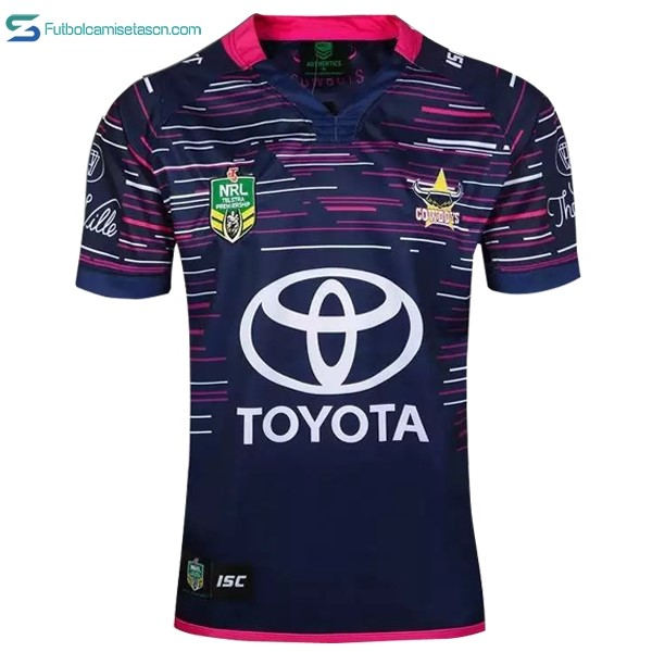 Camiseta Rugby North Queensland Cowboys 2ª 2016/17