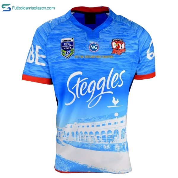 Camiseta Rugby Sydney Roosters NRL Champion 2017