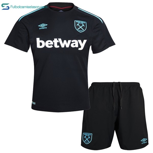 Camiseta West Ham United Niños 2ª 2017/18