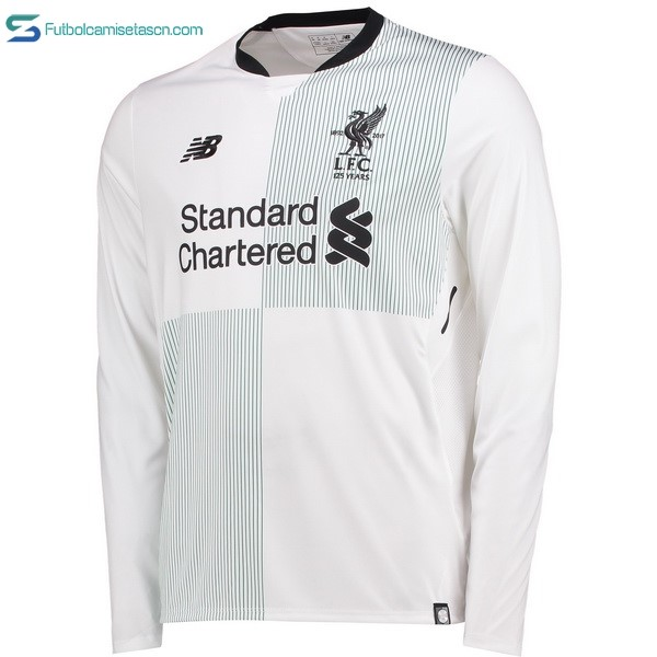 Camiseta liverpool 2ª ML 2017/18