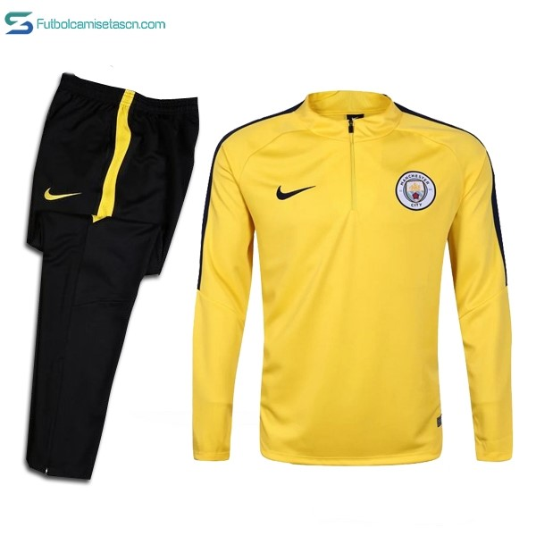 Chandal Manchester City 2017/18 Amarillo