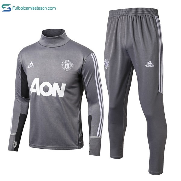 Chandal Manchester United 2017/18 Gris Claro
