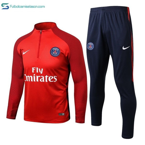 Chandal Paris Saint Germain 2017/18 Rojo