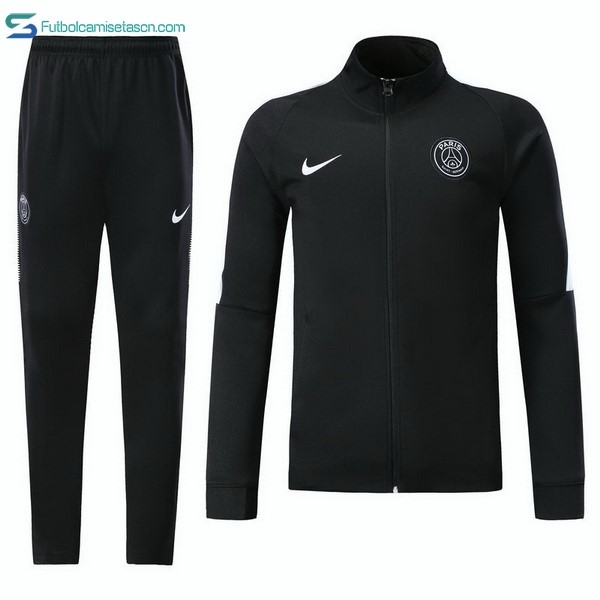 Chandal Paris Saint Germain Niños 2017/18 Negro