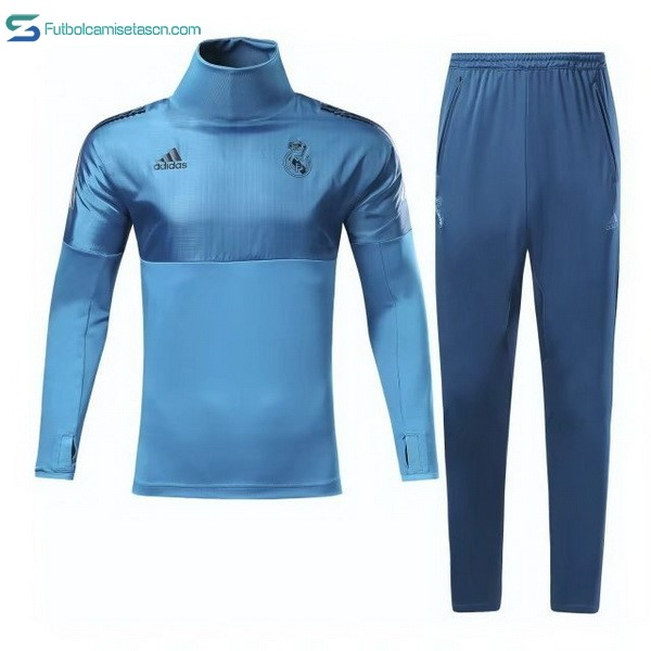 Chandal Real Madrid 2017/18 Azul Claro