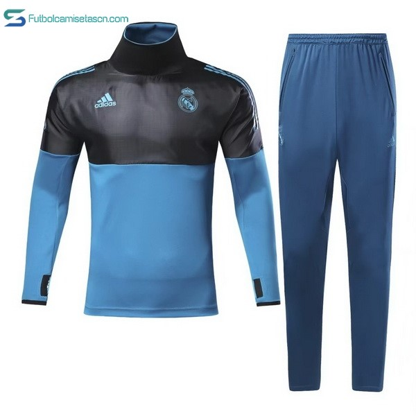 Chandal Real Madrid 2017/18 Negro Azul