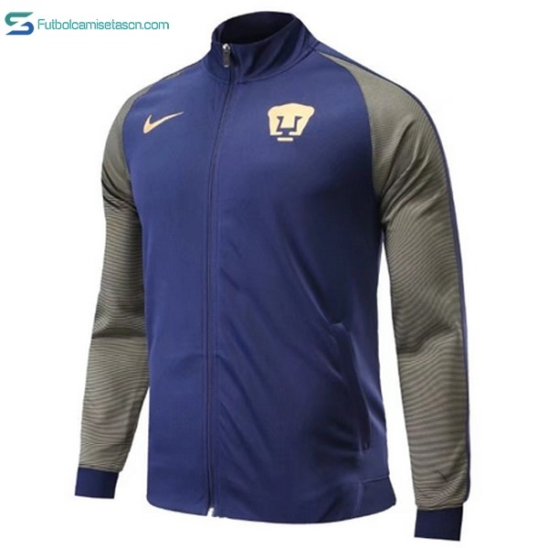 Chaqueta Club Universidad Nacional 2017/18 Azul