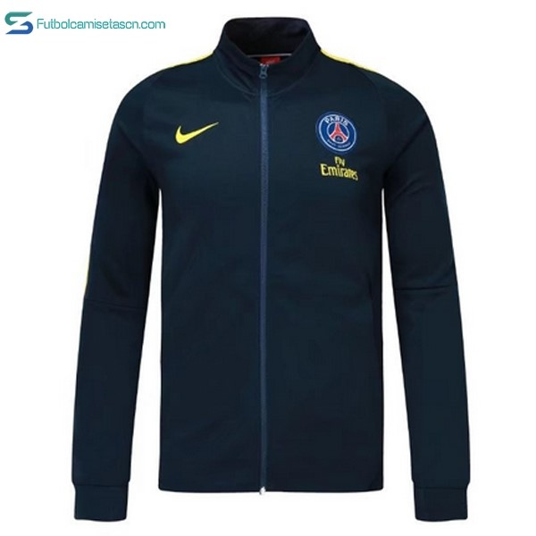 Chaqueta Paris Saint Germain 2017/18 Azul Marino