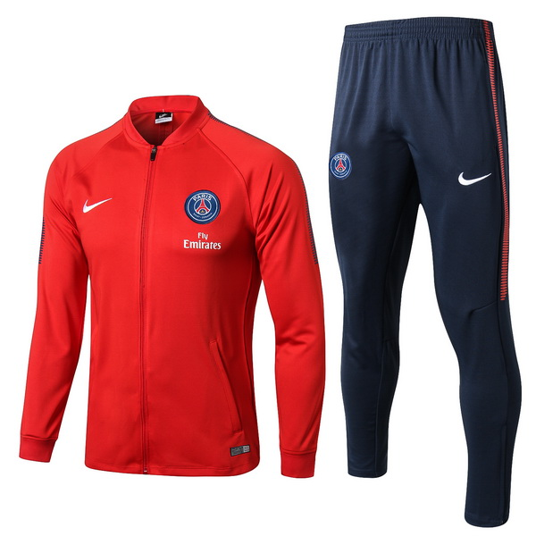 Chandal Paris Saint Germain 2017/18 Rojo Azul Marino