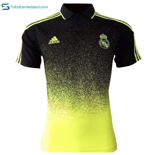 Polo Real Madrid 2017/18 Amarillo Negro