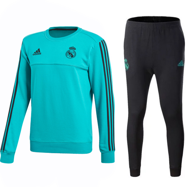 Chandal Real Madrid 2017/18 Verde Negro Marino